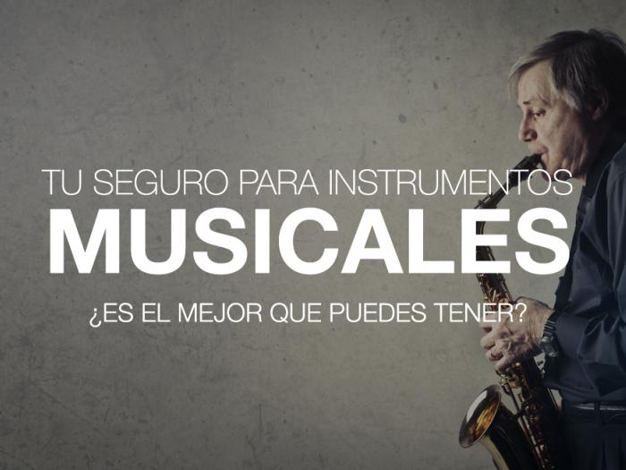 Seguro para instrumentos musicales