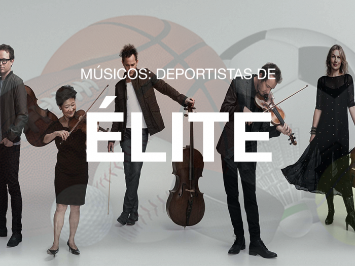 Músicos deportistas élite